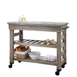STS Wheeled Cart Kitchen Utility Portable Multipurpose Indus
