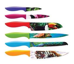 Wildlife Kitchen Knife Set in Gift Box - Cool Gifts for Anim