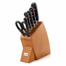 Wusthof Classic 7 Piece Jumbo Studio Cherry Knife Block Set