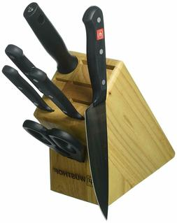 Wusthof Classic 7 Piece Kitchen Knife Block Set