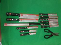 Wusthof Gourmet 14-piece Bamboo Knife Block Set w/bonus Kitc