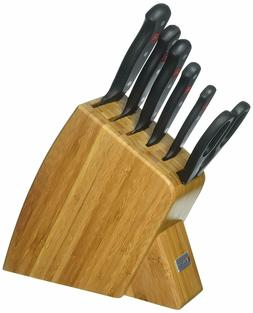 Wusthof Gourmet 7 Piece Jumbo Studio Bamboo Knife Block Set
