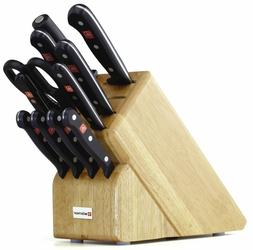 Wusthof Gourmet 12 Piece Cutlery Knife Set Block New MADE IN