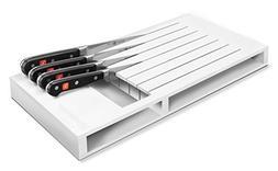 Wusthof White 7 Slot In-Drawer Storage Tray